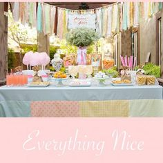 Beautiful for a little girl's vintage party!