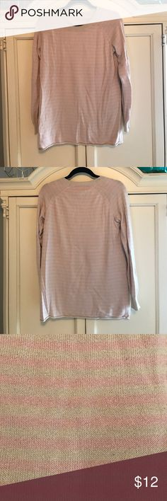 BCBGMaxazria pink and nude stripped long sweater BCBGMaxazria pink and nude stripped long sweater BCBGeneration Sweaters