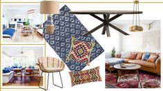 There's a lot of throwbacks floating around these days. Old television shows & movies are being remade, kids are wearing crop-tops, bell-bottoms, and feath Bungalow, Kids Rugs, Boho, Interior, Home Decor, Style, Swag, Decoration Home, Kid Friendly Rugs