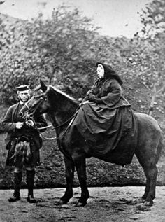Queen Victoria (1863) on one of her horses.