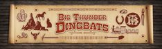 Free Western Font - Big Thunder Dingbats - from the David Occhino Typeface Collection