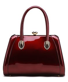 Another great find on #zulily! Le Rêve Maroon Leticia Structured Satchel by Le Rêve #zulilyfinds