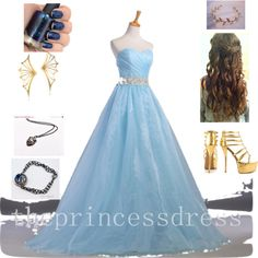 """""""Ravenclaw prom"""" by christi1021 on Polyvore"""