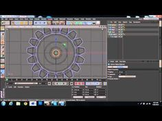 How to make a Cog Gear in Cinema 4D - YouTube