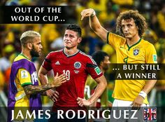#COL's James Rodriguez 6 goals Cause some people win hearts. #respect