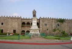 El Palacio de Cortes - Hernan Cortes' Palace in Cuernavaca.  Beautiful murals by Diego Rivera inside.