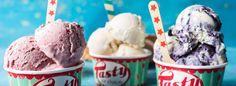 Strawberry No-Churn Mascarpone Ice Cream Recipe -