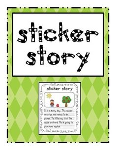 This is a favorite center for students! Create a scene using stickers then write a story about it. This is a great way to inspire and excite young ...