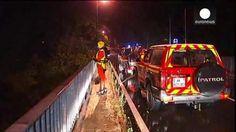 Cinco personas mueren en las inundaciones registradas en el sur de Francia