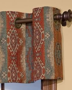 Horseblanket Valance Rustic Bedroom Pinterest Valances