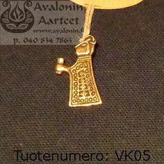 Viking age jewel, bronze: Valkyria 1 / Viikinkiajan pronssikoru: Valkyria 1 Viking Age, Iron Age, Vikings, Gold Necklace, Bronze, Jewels, Style, The Vikings, Gold Pendant Necklace