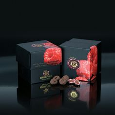 Gulliver Gourmet Selection, Belgian white chocolate cover freeze dried whole Raspberries..