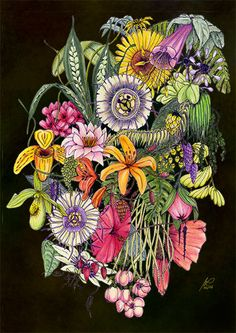 Jungle Creative Art, Illustration, Artwork, Photo Calendar, Digital Art, Image Editing, Pictures, Creative Artwork, Work Of Art