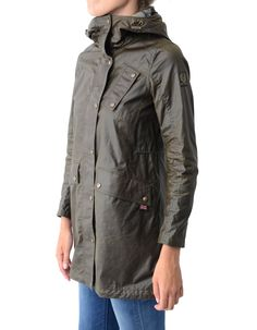 Belstaff Faded Olive Payne Parka Hooded Jacket | Accent Clothing