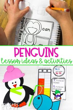 Check out these fun and engaging penguin activities! Students learn about penguins through close reading passages, videos, a science experiment, and more! #penguinactivities #allaboutpenguins #januaryideas