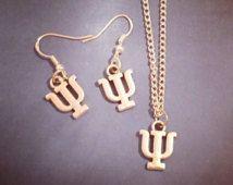 Psychology Jewelry Psychiatry Jewellery. Greek Keychain Necklace Bracelet…