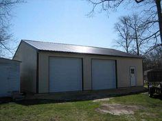 Pole barn 30x50 ..Garage plans/ideas.. Pinterest