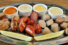 This looks amazing. Beer and sausage are just a natural pairing