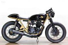 Honda CB550 custom by Lossa Engineering