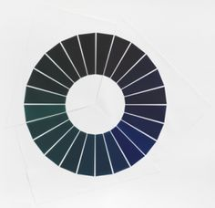 Olafur Eliasson • The yellow color circle / The red color circle / The blue color circle • The colour circle series - Part 2 • 2009 • Colour Gravure • Somerset White Satin 300 gr. • 170 x 175 cm • Edition of 24 • Series of 3