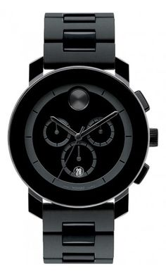 """Movado Bold...and it is definitely """"Bold"""". Great gift for any watch wearer --emphasis on """"watch wearer."""" This $700 watch would endure a vile life if it were to rest continuously on a night-stand.."""