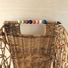 Woven Rattan Wicker Butterfly Basket Magazine Basket Floor Great Pictures