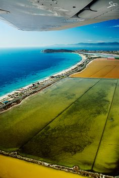 Over Cagliari - Poetto beach, By Stefano Garau