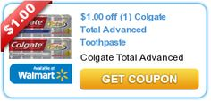 $1.00 off (1) Colgate Total Advanced Toothpaste
