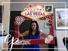Vegas photo booth frame | Viva Las Vegas photo booth prop | Bachelorette photo prop | Selfie frame | Printed
