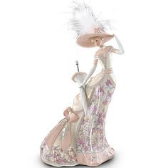 victorian women thomas kinkade figurines | Thomas Kinkade - Collectible Figurines, Home Decor, Collectors Plates ...