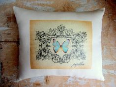 French country pillow on Etsy by Paris Market Place. Would make a great card.