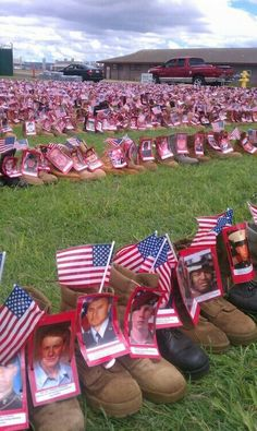 RESPECT the Military & Flag... These people Died for our Freedoms!!!