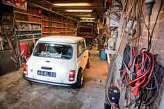 1000 images about classic mini on pinterest mini for Garage austin mini