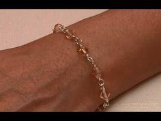 Wirewrapped Bracelet Handmade Jewelry by Mariel - YouTube