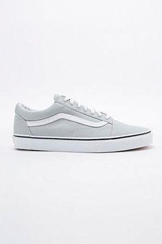 c56868f080c9b0 Vans Old Skool Trainers in Grey  sneakers  offduty  covetme  vans Vans Old