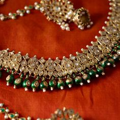 Necklaces – Page 9 – Finest Jewelry Indian Wedding Jewelry, Bridal Jewelry, India Jewelry, Fine Jewelry, Gold Jewellery, Hyderabadi Jewelry, Circle Pendant Necklace, Bee Necklace, Necklace Designs