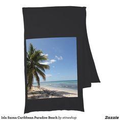 Isla Saona Caribbean Paradise Beach Scarf Wrap