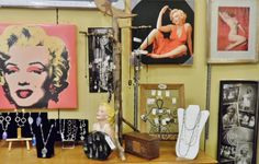Just a few Marilyn Moroe pieces available at Nestology. www.Facebook.com/Nestology