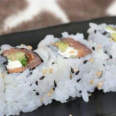 Pin for Later: 13 Homemade Sushi Recipes That Are Better Than Takeout Smoked Salmon Roll Get the recipe: smoked salmon roll