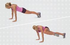 Plank With Knee Tuck http://www.womenshealthmag.com/fitness/lower-abs-exercises/slide/1