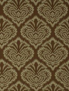 Upholstery Fabric Ikat via Etsy