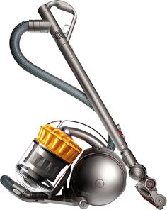 Dyson - Ball Multi Floor Bagless Canister Vacuum - Iron/Yellow, 205779-01