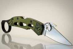 The Wise Men Company FANG is a rapid blade deployment add on for many Spyderco brand knives. Spyderco Knives, Diy Knife, Wise Men, Edc Gear, Knives And Swords, Knife Making, Folding Knives, Signet Ring, Axe