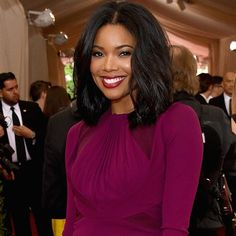 Gabrielle Union -  Makeup, Hairstyle Trends 2016, 2017: Best Beauty Looks From The 2015 Met Gala - Click below to see photos  #MetGala