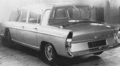 1962 Hillman Hunter Swallow Concept (Transverse Rear Engine) 1220cc 4-Cylinder