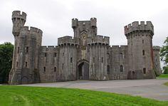 Penrhyn Castle in Wales