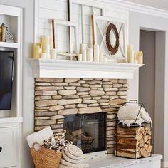 fireplace decor, shi