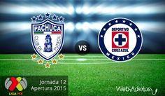Pachuca vs Cruz Azul, Fecha 12 del Apertura 2015 ¡En vivo por internet! - http://webadictos.com/2015/11/14/pachuca-vs-cruz-azul-ap2015-pendiente/?utm_source=PN&utm_medium=Pinterest&utm_campaign=PN%2Bposts