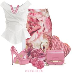 """Such a Lady"" by mssgibbs on Polyvore"