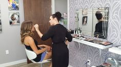 Beautiful Bride-to-be Jenni at our M3 Studio Downtown Orlando for her preview today!!  http://wedding.m3makeup.com/faqs/